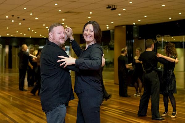 Deb And Pete Dancing
